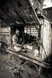 Street vendor of Amritsar, Punjab, India Royalty Free Stock Photos