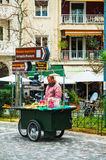 Street vendor in Athens, Greece Stock Image