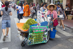 Street vendor Royalty Free Stock Image