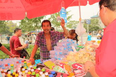 Street vendor in Beijing royalty free stock image