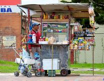 Street vendor Stock Image