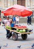 Street vendor Stock Images