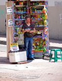 Street vendor Stock Photography