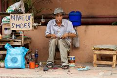 Street Vendor Cambodia Stock Photography