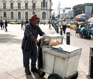 Street Vendor Royalty Free Stock Photo