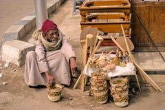 Street vendor in Egypt