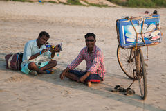 Street vendor goa Stock Images