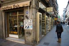 Street vendor in Granada Royalty Free Stock Photos