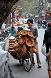 Street vendor in Hanoi, Vietnam Stock Photography