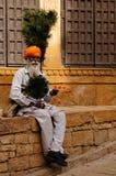 Street vendor of India Royalty Free Stock Photo