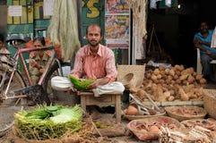 Street vendor of India Royalty Free Stock Image