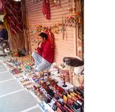 Street Vendor of Jaipur Stock Images