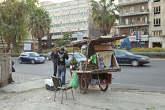Street vendor, Lebanon Stock Image