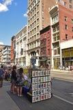 Street Vendor in New York City Stock Photo
