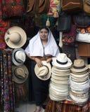 Street vendor in Quito, Ecuador Royalty Free Stock Image