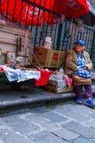 Street Vendor in Quito Stock Images