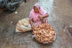 Street vendor Royalty Free Stock Photography