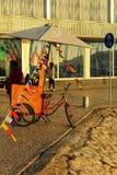 Street vendor of soft drinks.  Royalty Free Stock Photo