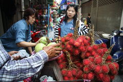 Street vendor in Thailand Royalty Free Stock Photos