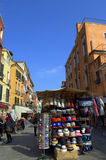 Street vendor,Venice Royalty Free Stock Image