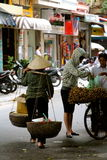 Street vendors Hanoi Stock Photo