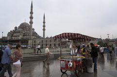 Street vendors - Istanbul Royalty Free Stock Photo