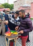 Street vendors in istanbul Stock Photo