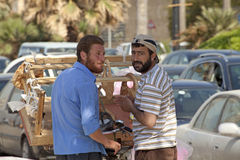 Street vendors, Lebanon Royalty Free Stock Photos