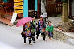 Street vendors sapa Royalty Free Stock Image