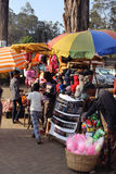 Street vendors Stock Photography