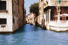 Street of Venice Stock Photos