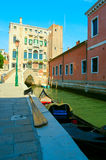Street in Venice Royalty Free Stock Images