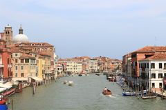 Street in Venice. Beautiful street and channel in Venice, Italy Stock Photo