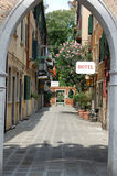 Street in Venice Royalty Free Stock Image