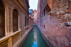 Street of Venice, Italy Royalty Free Stock Images