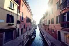 Street of Venice, Italy Stock Image