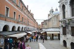 Street in Venice Royalty Free Stock Photos