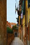 Street in Venice, Italy Royalty Free Stock Image