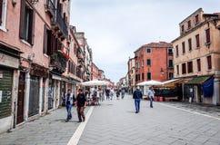 Street in Venice Stock Photo