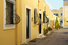 Street of ventotene Royalty Free Stock Photos