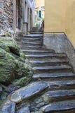 Street in Vernazza village Stock Photos
