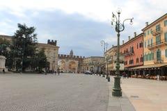 Street in Verona, Italy Stock Image
