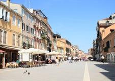 Street Via Giuseppe Garibaldi Royalty Free Stock Images