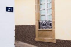 Street of Viana do Bolo (Spain) Stock Photos