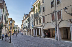 Street of Vicenza Stock Photos
