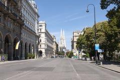 Street of Viena Royalty Free Stock Photo