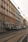 Street of Vienna in Austria Stock Image