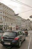 Street of Vienna in Austria Royalty Free Stock Photos