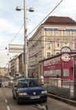 Street of Vienna in Austria Stock Photo