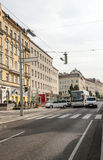Street of Vienna in Austria Royalty Free Stock Photography